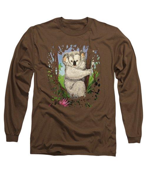 Koala Long Sleeve T-Shirt by Adam Santana