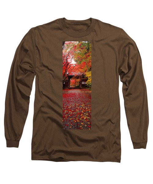 Komyoji Temple  Kyoto Japan Long Sleeve T-Shirt