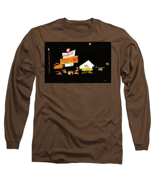 Krispy Kreme At Night Long Sleeve T-Shirt