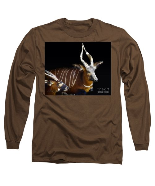 Kudo Resting Long Sleeve T-Shirt by Melissa Messick