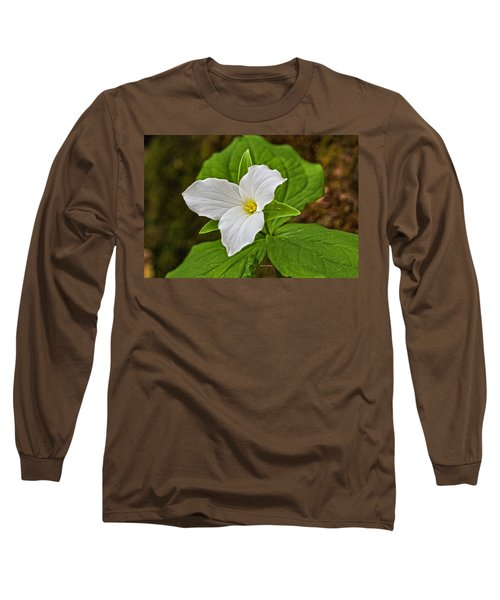 Lady In White Long Sleeve T-Shirt