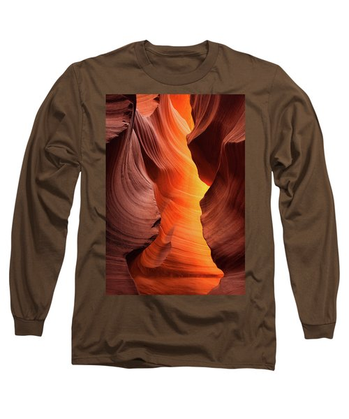 Long Sleeve T-Shirt featuring the photograph Lady Of The Flame by Darren White