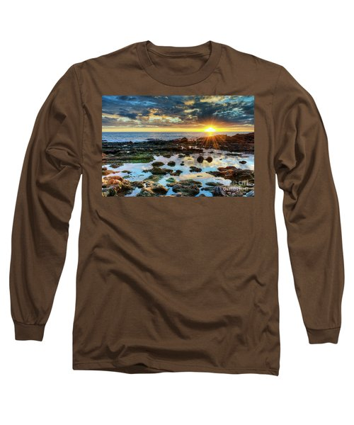 Laguna Beach Tidepools Long Sleeve T-Shirt by Eddie Yerkish