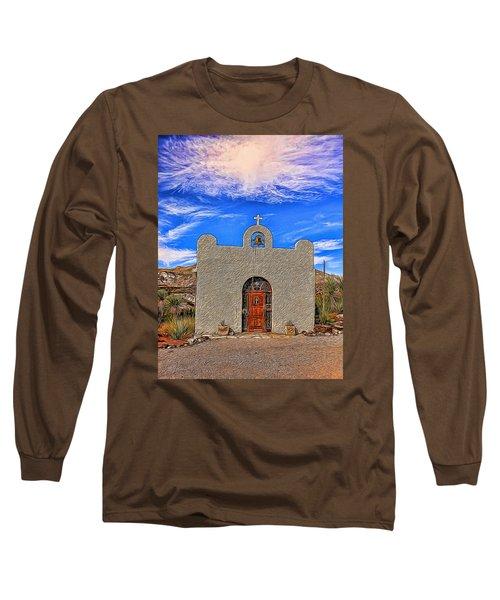 Lajitas Chapel Painted Long Sleeve T-Shirt