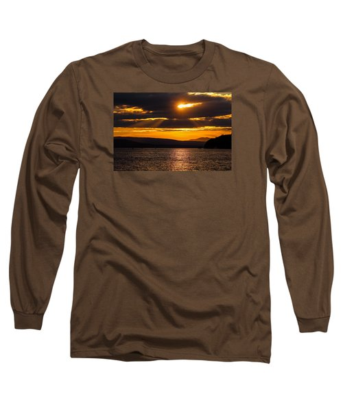 Lake Champlain Sunset Long Sleeve T-Shirt