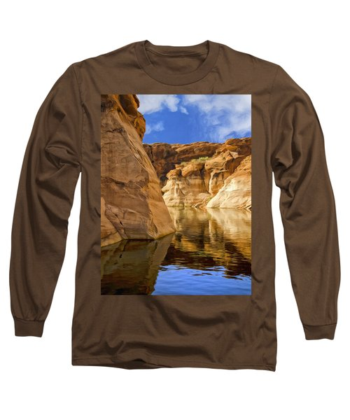 Lake Powell Stillness Long Sleeve T-Shirt