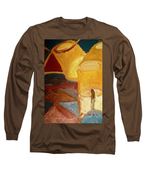 Lamps In Color Long Sleeve T-Shirt by Shea Holliman