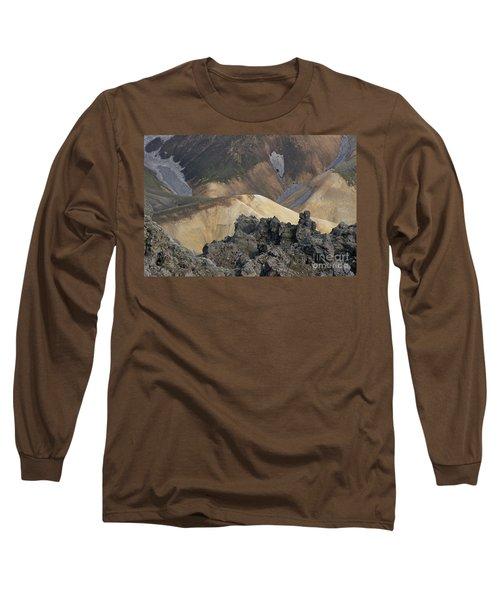 Landmannalaugar Iceland 3 Long Sleeve T-Shirt