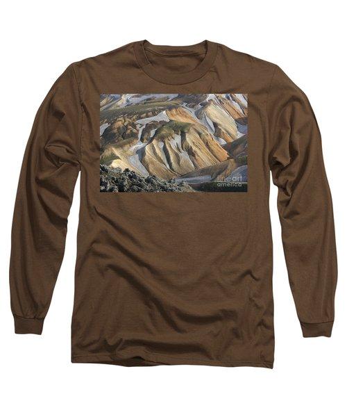 Landmannalaugar Iceland Long Sleeve T-Shirt