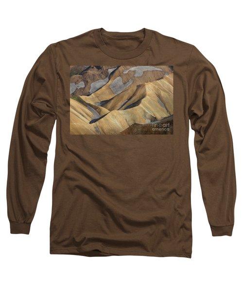 Landmannalaugar Natural Art Iceland Long Sleeve T-Shirt