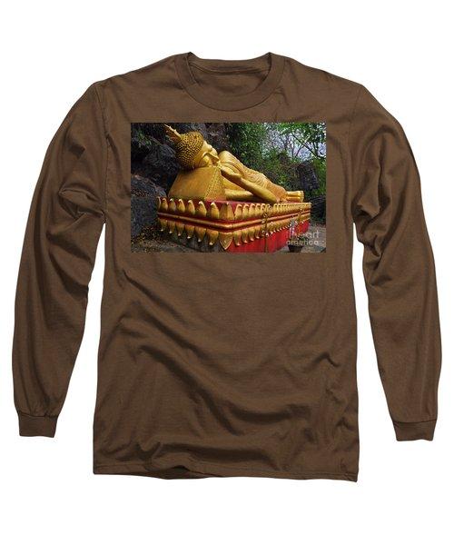 Long Sleeve T-Shirt featuring the photograph Laos_d602 by Craig Lovell