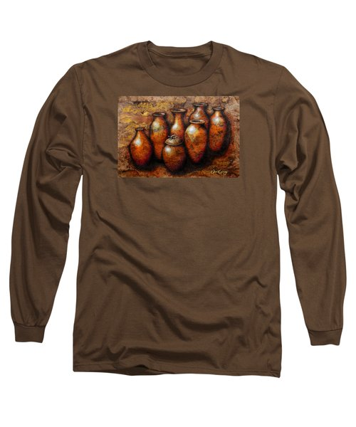 C O P U C H A S Long Sleeve T-Shirt