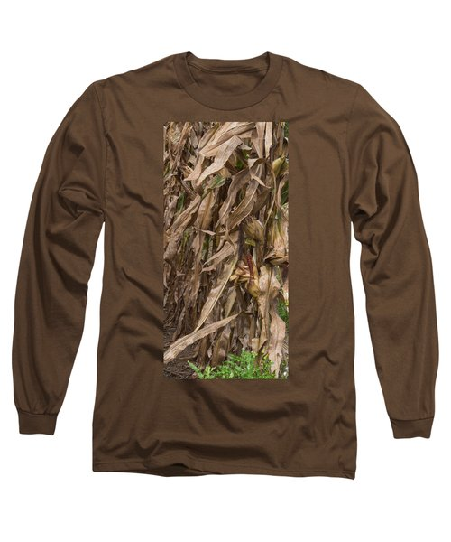 Last Ear Standing Long Sleeve T-Shirt by Arlene Carmel