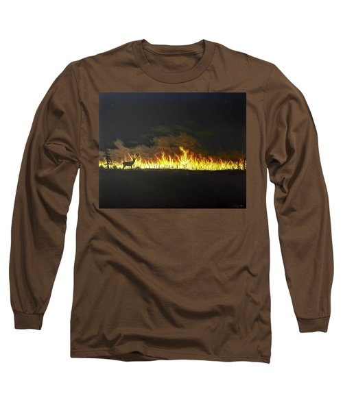 Last Look Back At Home Long Sleeve T-Shirt