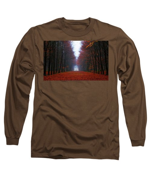 Late Fall Forest Long Sleeve T-Shirt