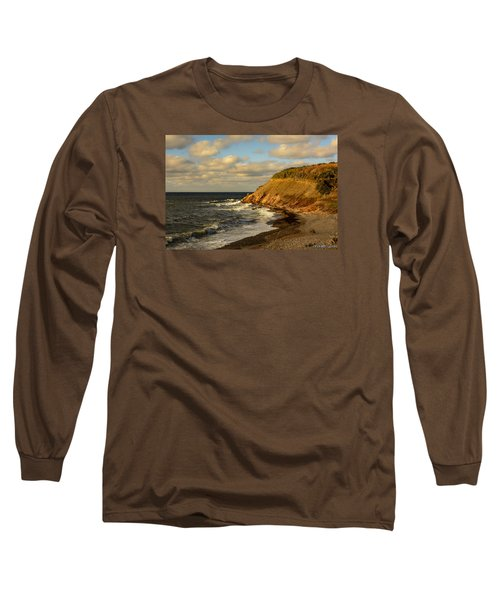 Late In The Day In Cheticamp Long Sleeve T-Shirt by Ken Morris