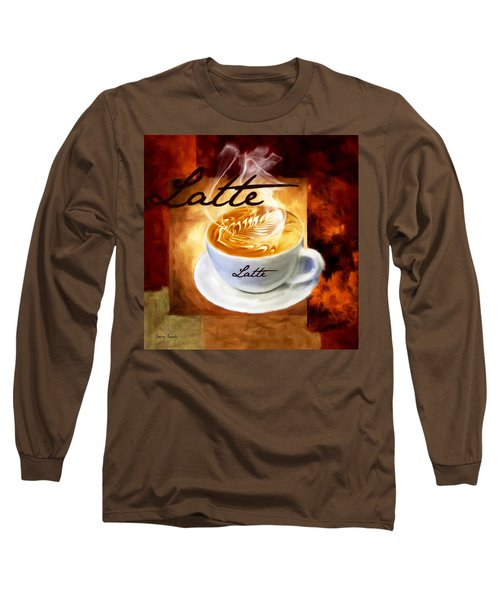 Latte Long Sleeve T-Shirt by Lourry Legarde