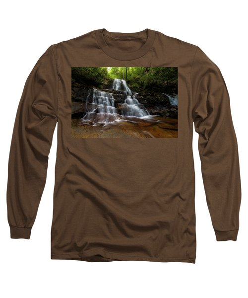Laurel Falls Great Smoky Mountains Tennessee Long Sleeve T-Shirt