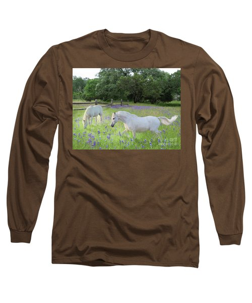 Lavender Pastures Long Sleeve T-Shirt