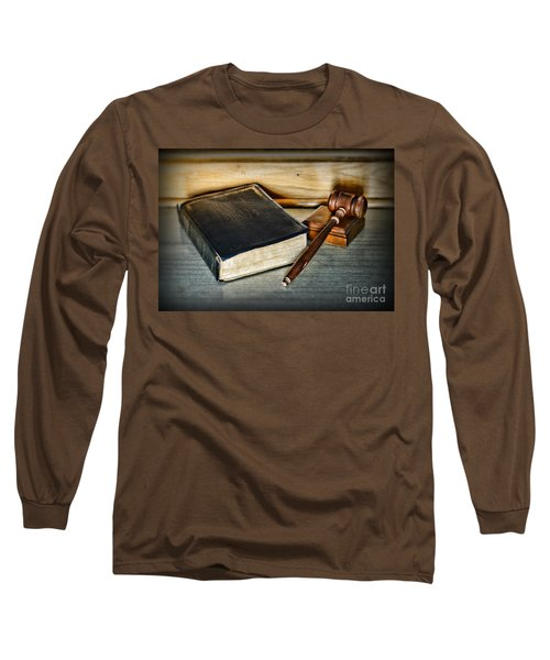 Lawyer - Truth And Justice Long Sleeve T-Shirt by Paul Ward