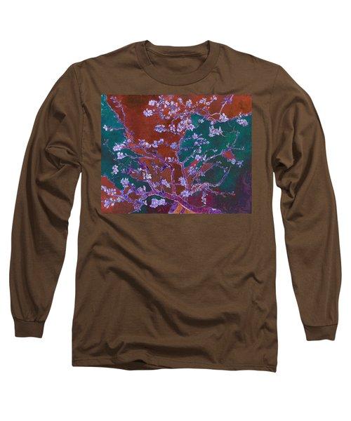 Layered 2 Van Gogh Long Sleeve T-Shirt