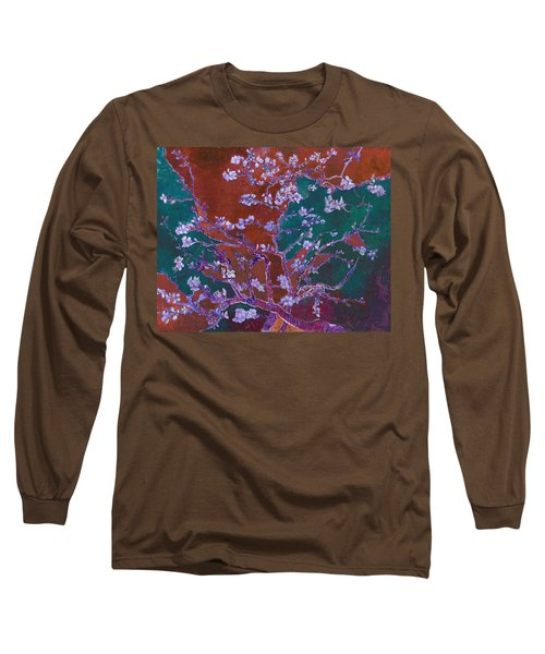 Layered 2 Van Gogh Long Sleeve T-Shirt by David Bridburg