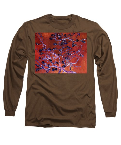 Layered 9 Van Gogh Long Sleeve T-Shirt by David Bridburg
