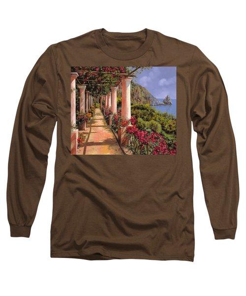 Le Colonne E La Buganville Long Sleeve T-Shirt