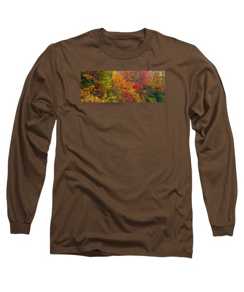 Leaf Tapestry Long Sleeve T-Shirt by Rob Hemphill