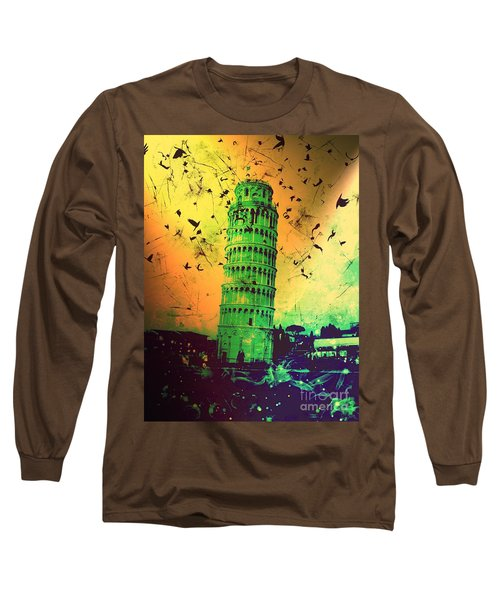 Leaning Tower Of Pisa 32 Long Sleeve T-Shirt