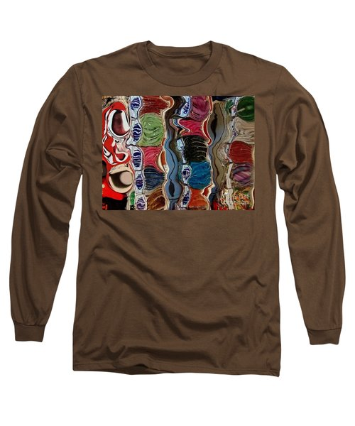 Poupourri Long Sleeve T-Shirt by Kathie Chicoine