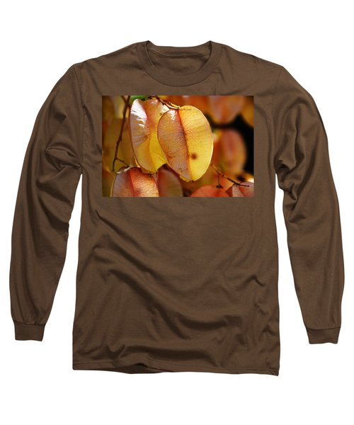 Leaves Hang For Fall-gerorgia Long Sleeve T-Shirt