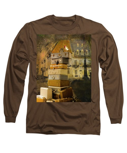 Leaving Quebec Long Sleeve T-Shirt by Jeff Burgess
