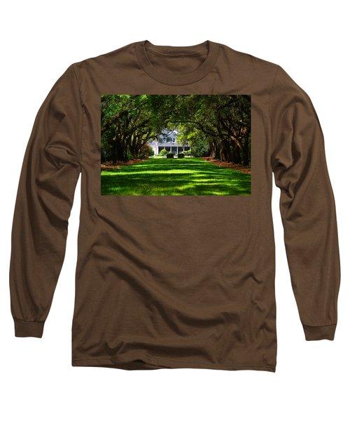 Legare Waring House Charleston Sc Long Sleeve T-Shirt by Susanne Van Hulst