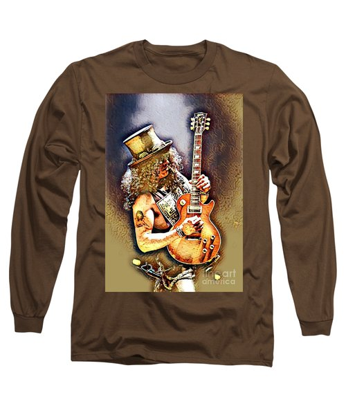 Legends Of Rock - Slash - Sweet Child Long Sleeve T-Shirt