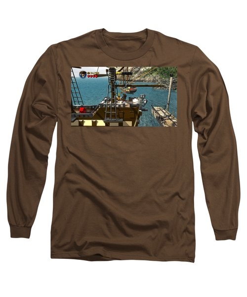 Lego Pirates Of The Caribbean The Video Game Long Sleeve T-Shirt