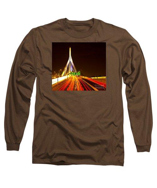 Leonard P. Zakim Bunker Hill Bridge  Long Sleeve T-Shirt