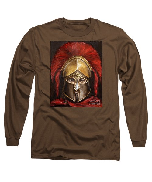 Leonidas Long Sleeve T-Shirt by Arturas Slapsys