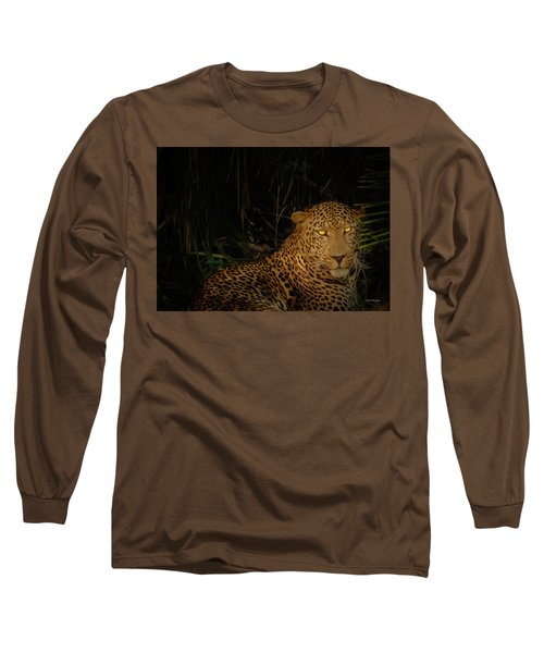 Leopard Hiding Long Sleeve T-Shirt