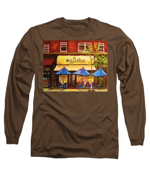 Lesters Cafe Long Sleeve T-Shirt