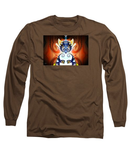 Li Shou - Ancient Chinese Cat Goddess Long Sleeve T-Shirt
