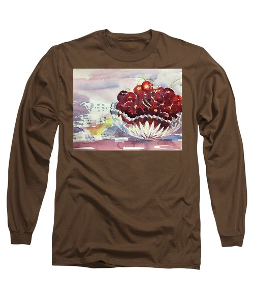 Life Is Just A Bowl Of Cherries Long Sleeve T-Shirt