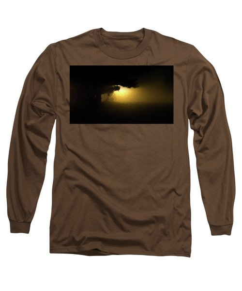 Light Through The Tree Long Sleeve T-Shirt by Leeon Pezok