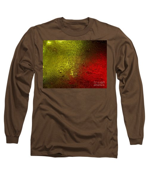 Long Sleeve T-Shirt featuring the photograph Light Under Ice by Trena Mara