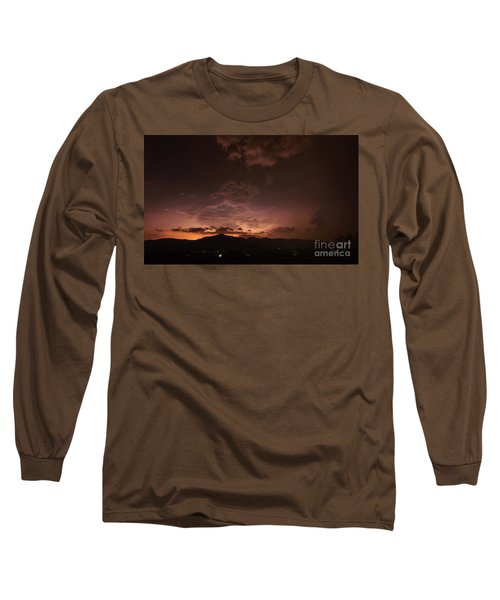 Lightning Streaks  Long Sleeve T-Shirt