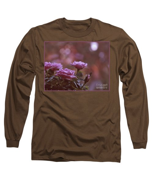 Like A Fine Rosie Of Pastels Long Sleeve T-Shirt