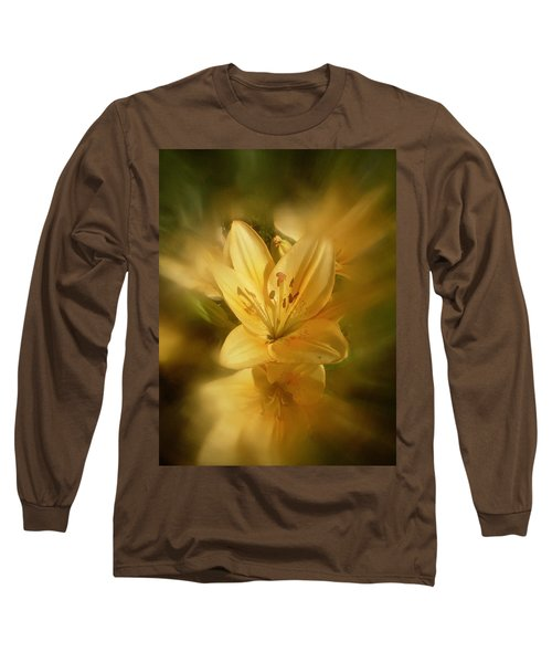 Long Sleeve T-Shirt featuring the photograph Lily Be Mine by Richard Cummings