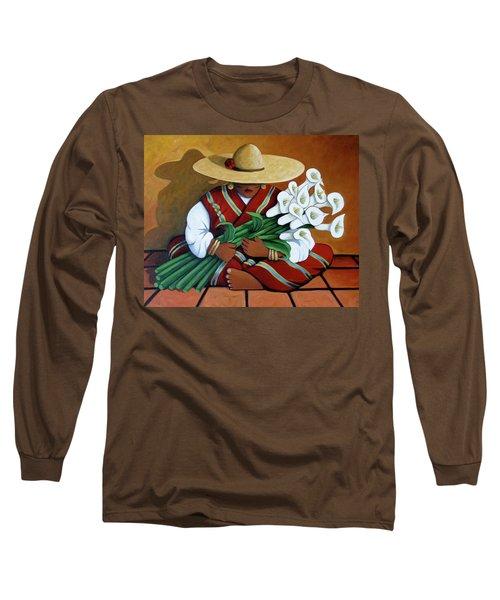 Lily Woman Long Sleeve T-Shirt