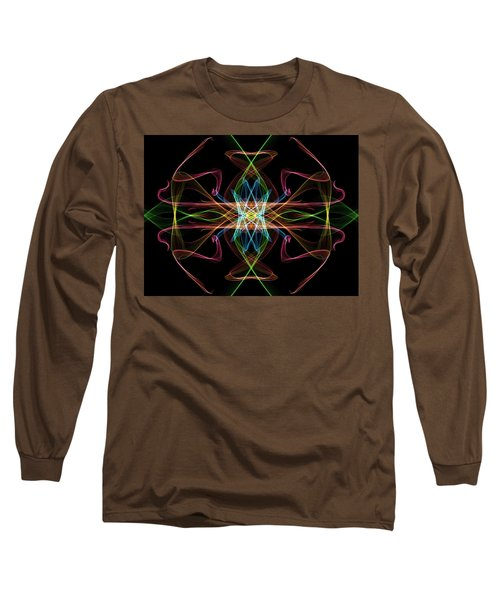Line Art Long Sleeve T-Shirt