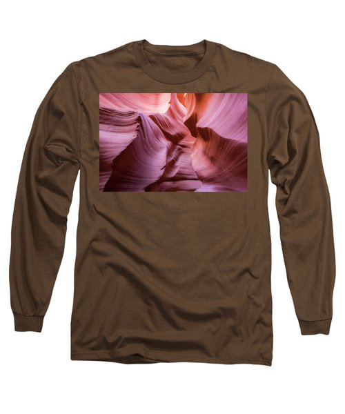 Lines In The Canyon Long Sleeve T-Shirt